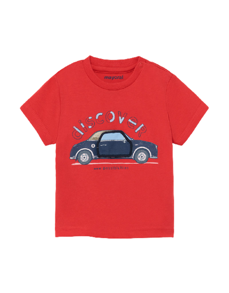 Cyber Red Play Car Shirt
