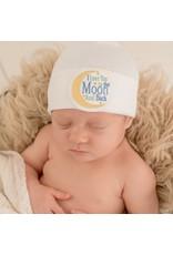 IlyBean Love You to The Moon Newborn Hospital Hat