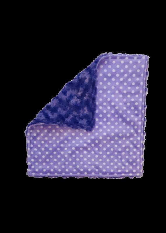 Purple Polka Dot Softy