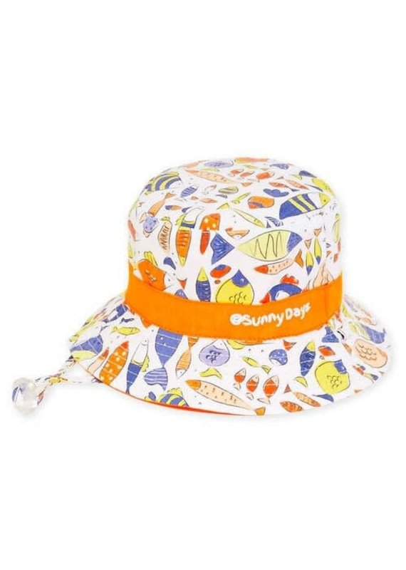 Sam Infant Reversible Sun Hat 0-12m (44cm)