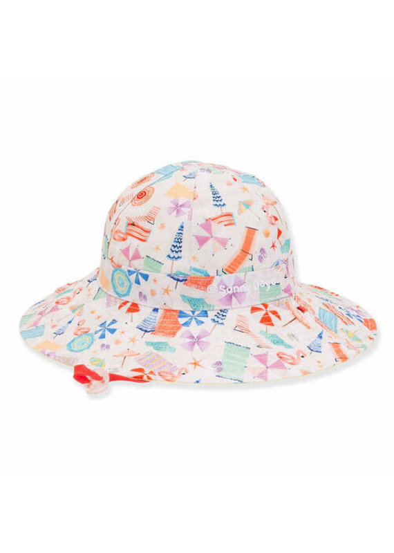 Alora Toddler Girl Sun Hat 3-6yr
