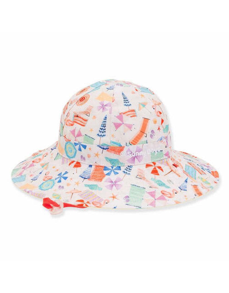 Alora Toddler Girl Sun Hat 3-6yr