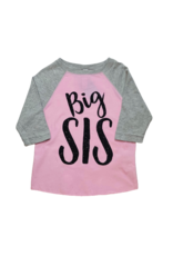 Big Sis Baseball Tee