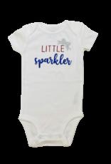 Little Sparkler Short Sleeve Onesie