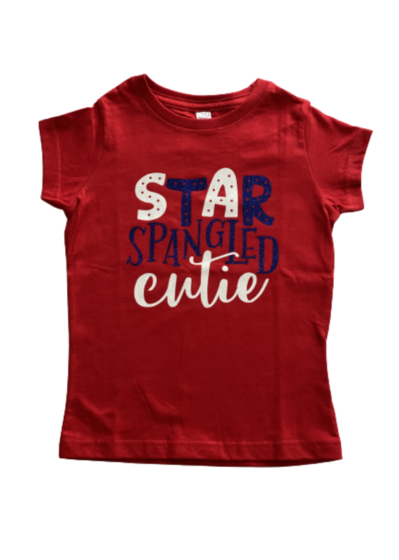 Star Spangled Cutie Short Sleeve Shirt