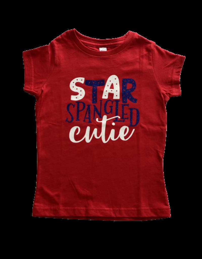 Star Spangled Cutie Short Sleeve Shirt