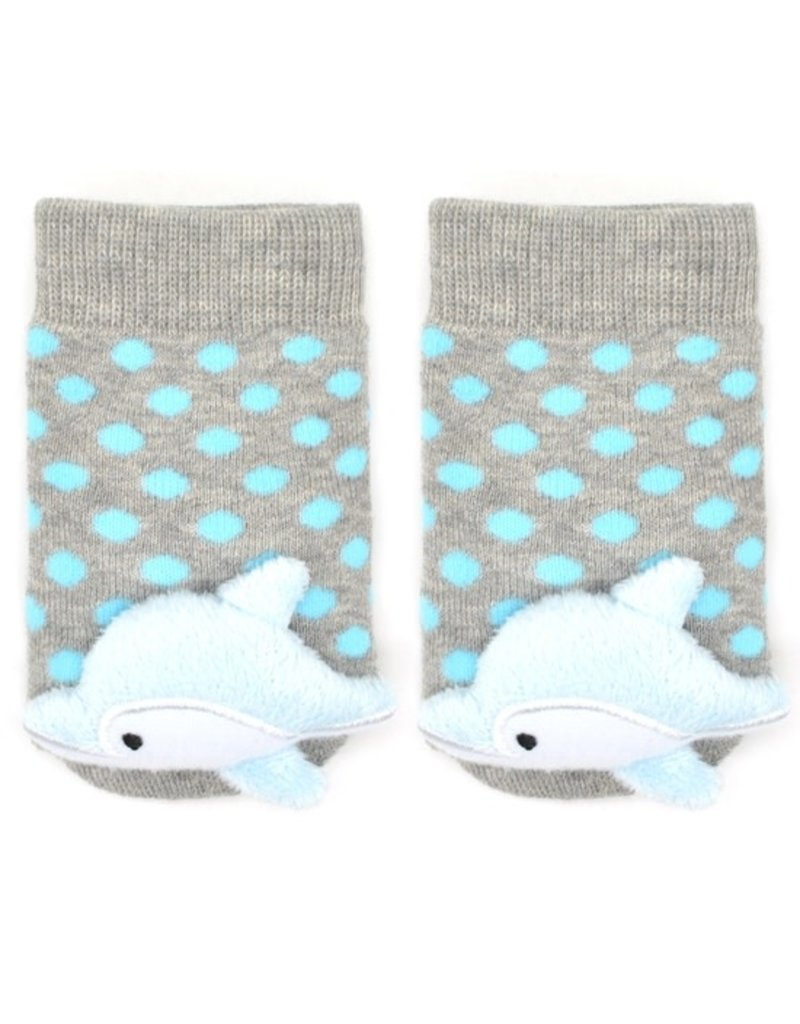 Liventi Baby Dolphin Rattle Sock 0-12m