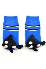 Liventi Baby Orca Rattle Socks 0-12m