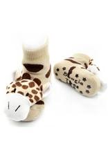 Liventi Giraffe Rattle Socks 0-12m