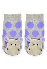 Liventi Happy Hippo Rattle Socks 0-12m