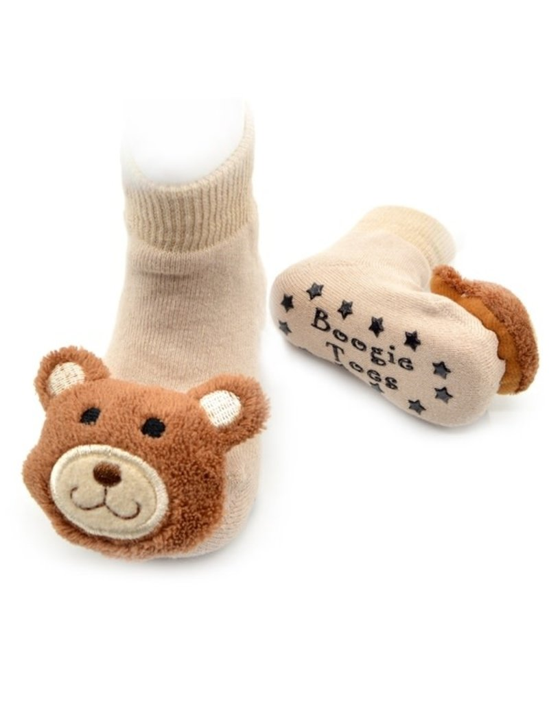 Liventi Teddy Bear Rattle Socks 0-12m