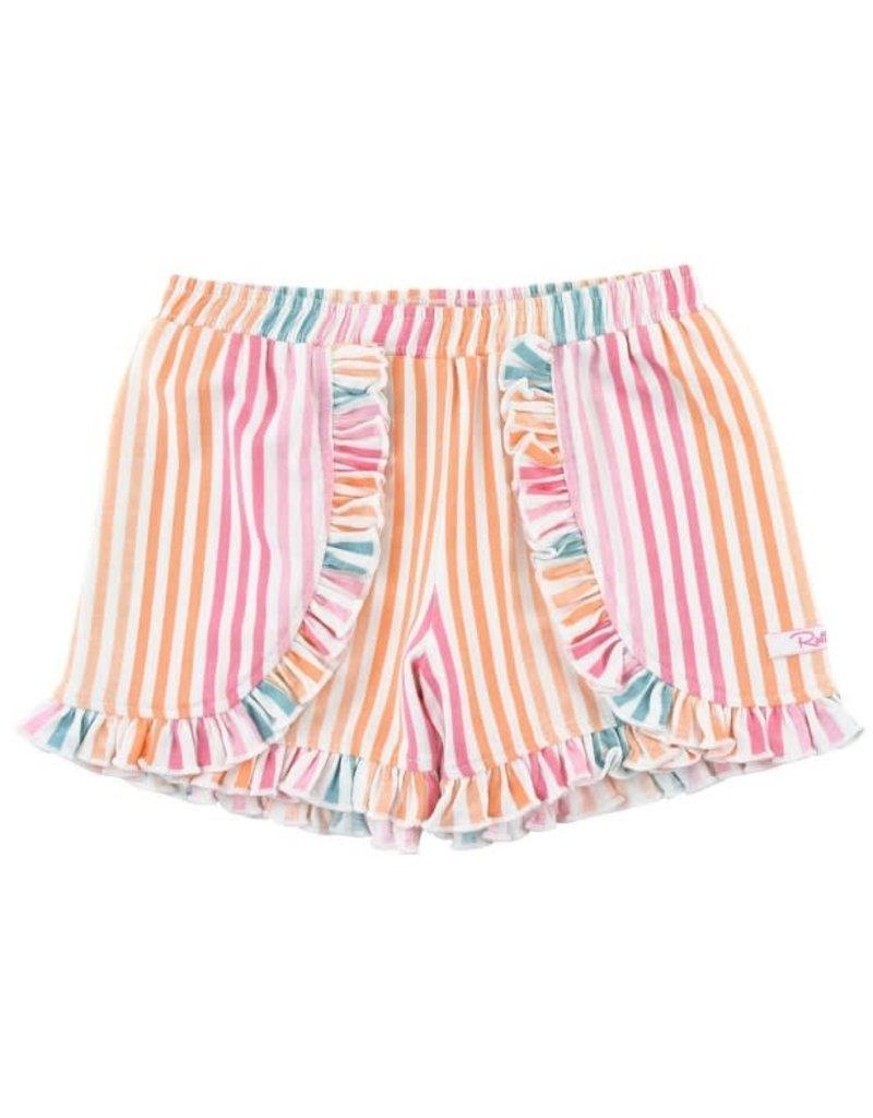 Daydream Stripe Ruffle Shorts