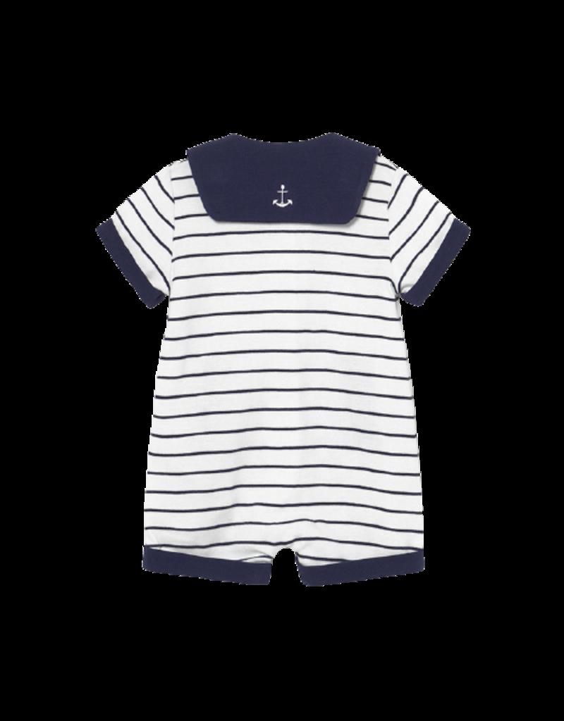 Sailor Navy Nany Knit Dungaree