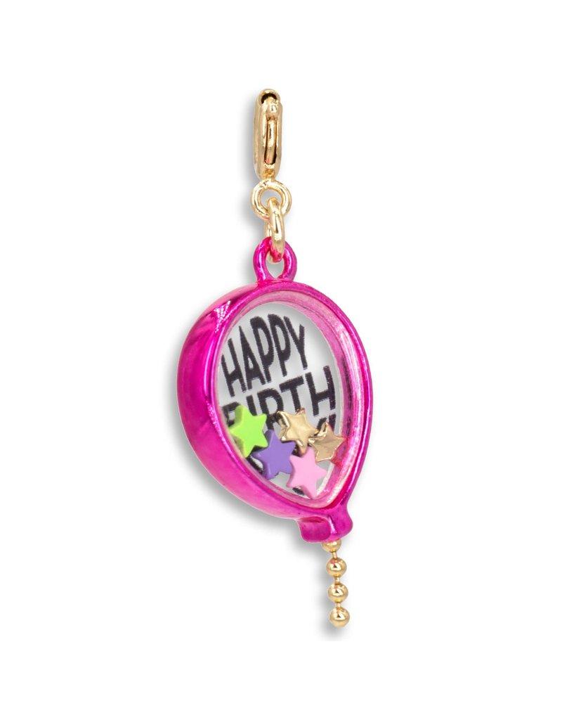 CHARM IT! Gold Birthday Balloon Shaker Charm