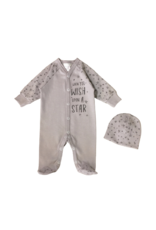 Itty Bitty Clothing Company Front Snap Footie Upon A Star