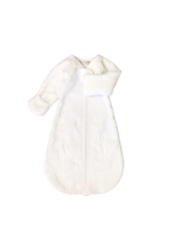 Itty Bitty Clothing Company Plush Sleep Sack White