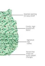 Daisies & Ladybugs Ruffle Detail Romper
