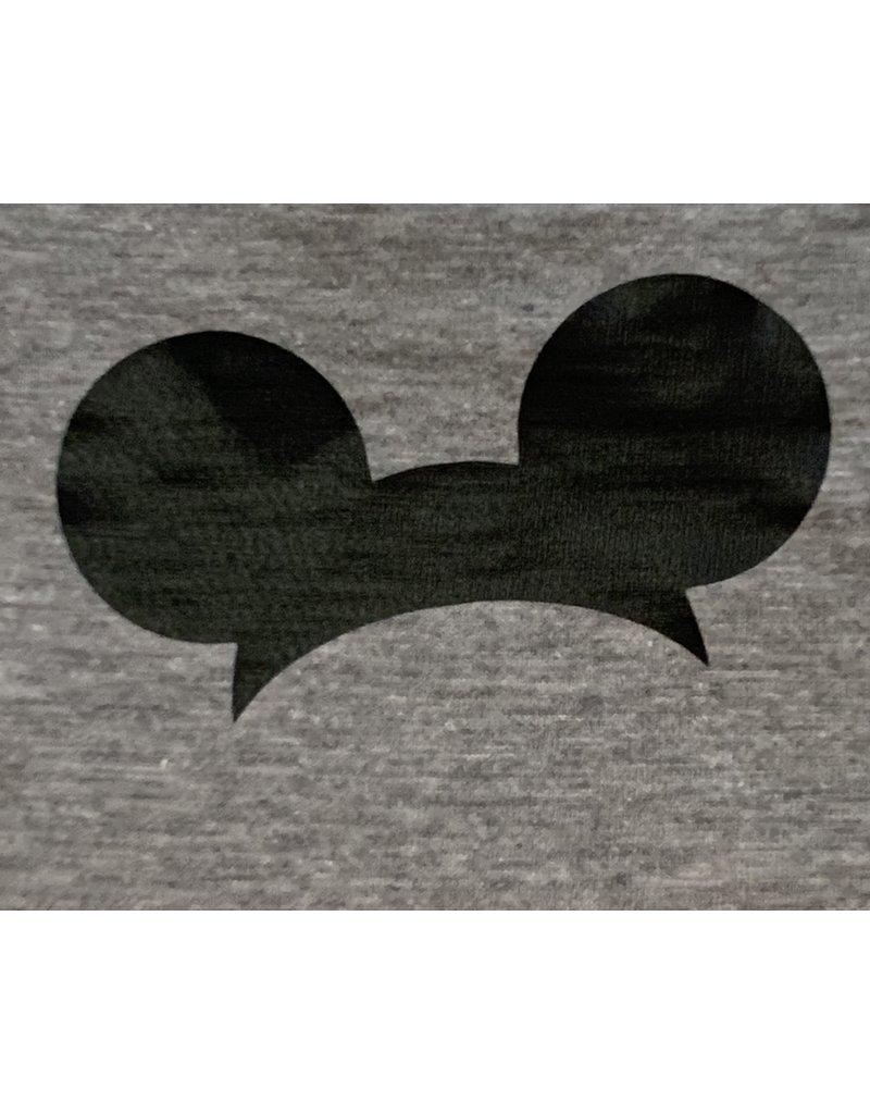 Mickey Ears Gray Short Sleeve Shirt
