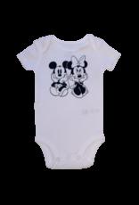 Minnie and Mickey Short Sleeve Onesie