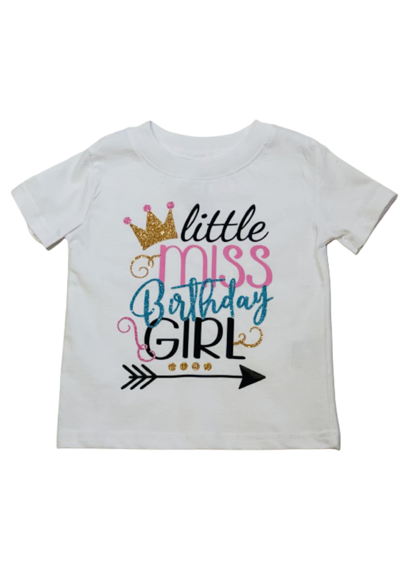 Little Miss Birthday Girl