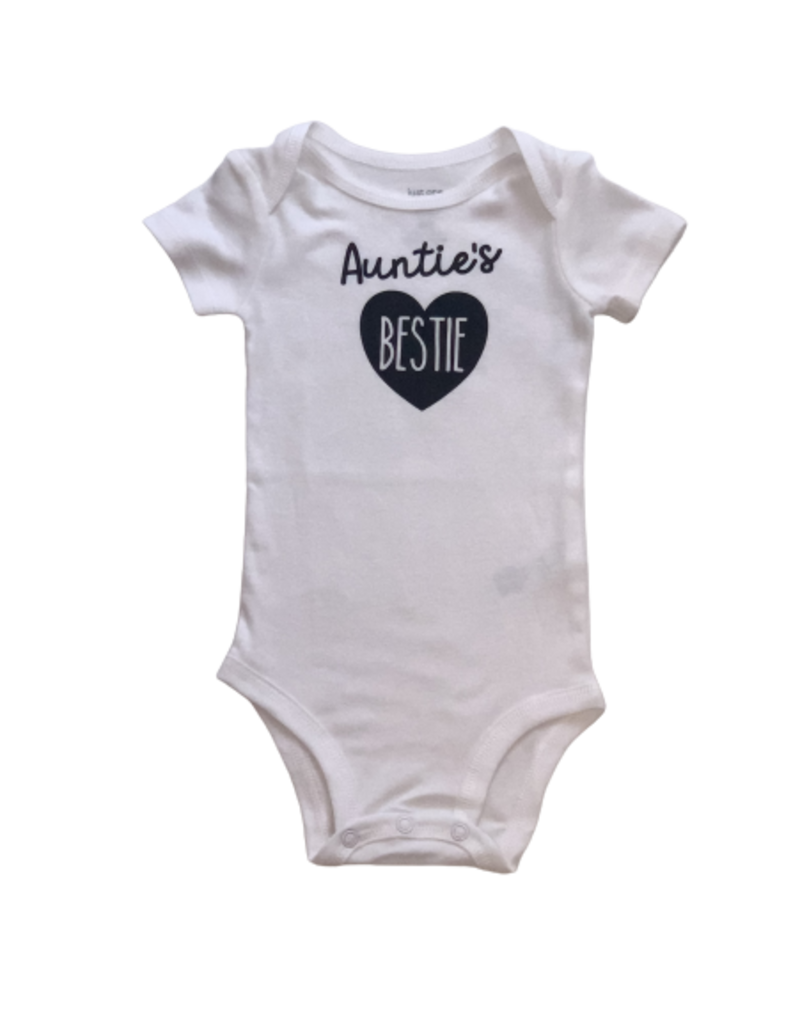 Jena Bug Baby Boutique Auntie's Bestie Infant Onesie