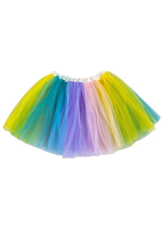Tutu Toddler Girl Pastel Rainbow