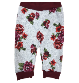 Jena Bug Baby Boutique Halle Sweater Floral Jogger