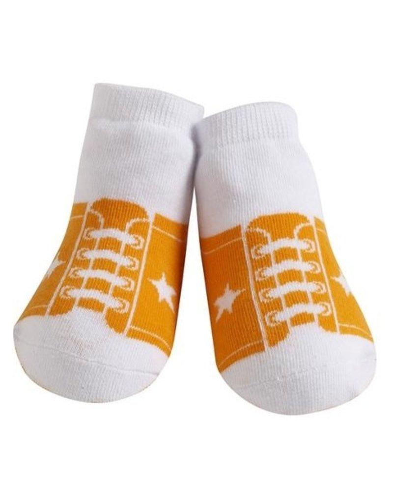 Jazzy Toes Sneaker Socks 0-12m