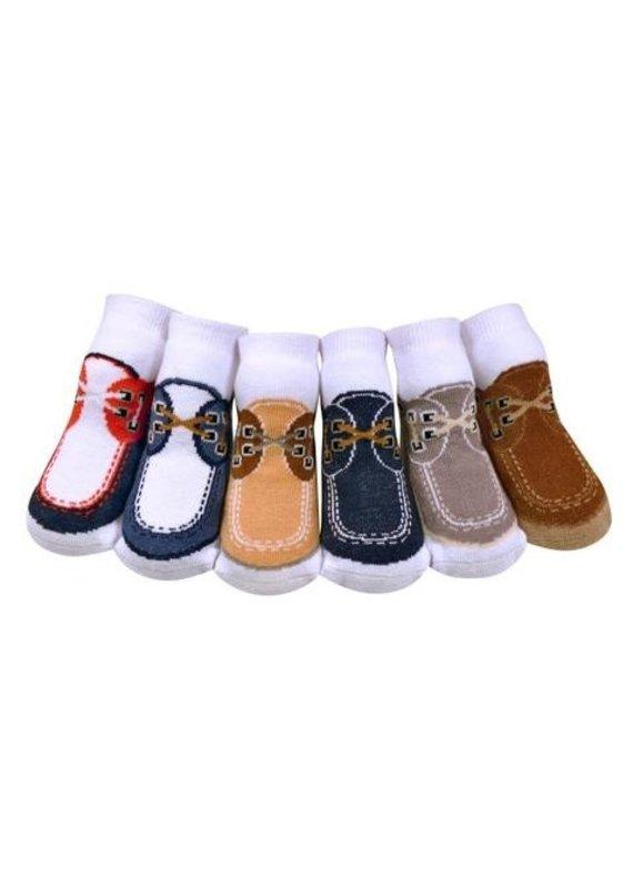 Jazzy Toes Docksider Socks 0-12m