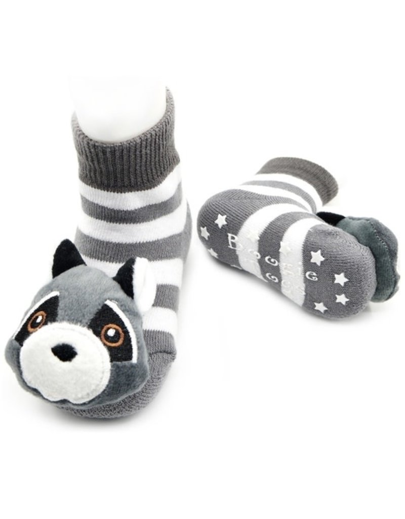 Liventi Clever Racoon Rattle Sock 1-2yr