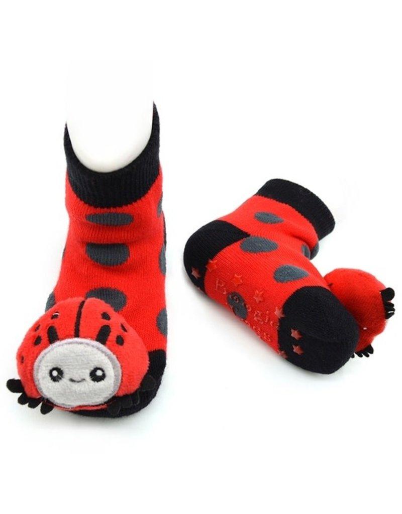 Liventi Ladybug Rattle Sock 0-12m