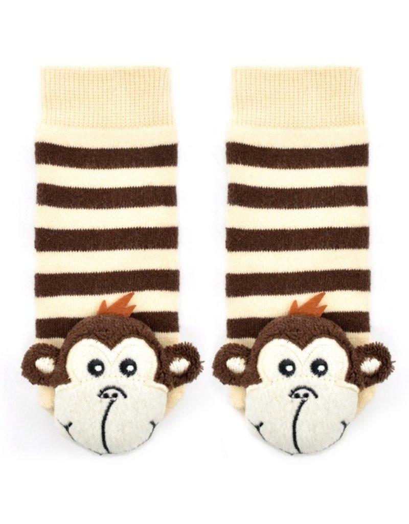 Liventi Monkey Rattle Sock 1-2yr