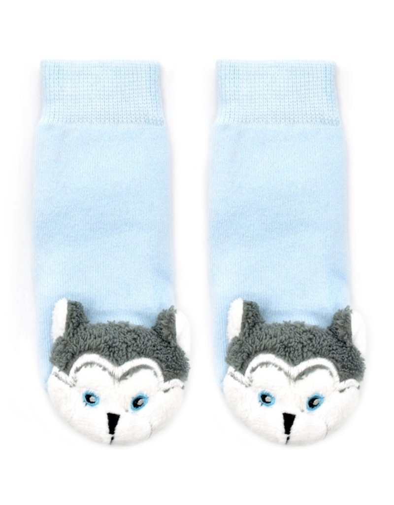 Liventi Baby Wolf Rattle Sock 0-12m