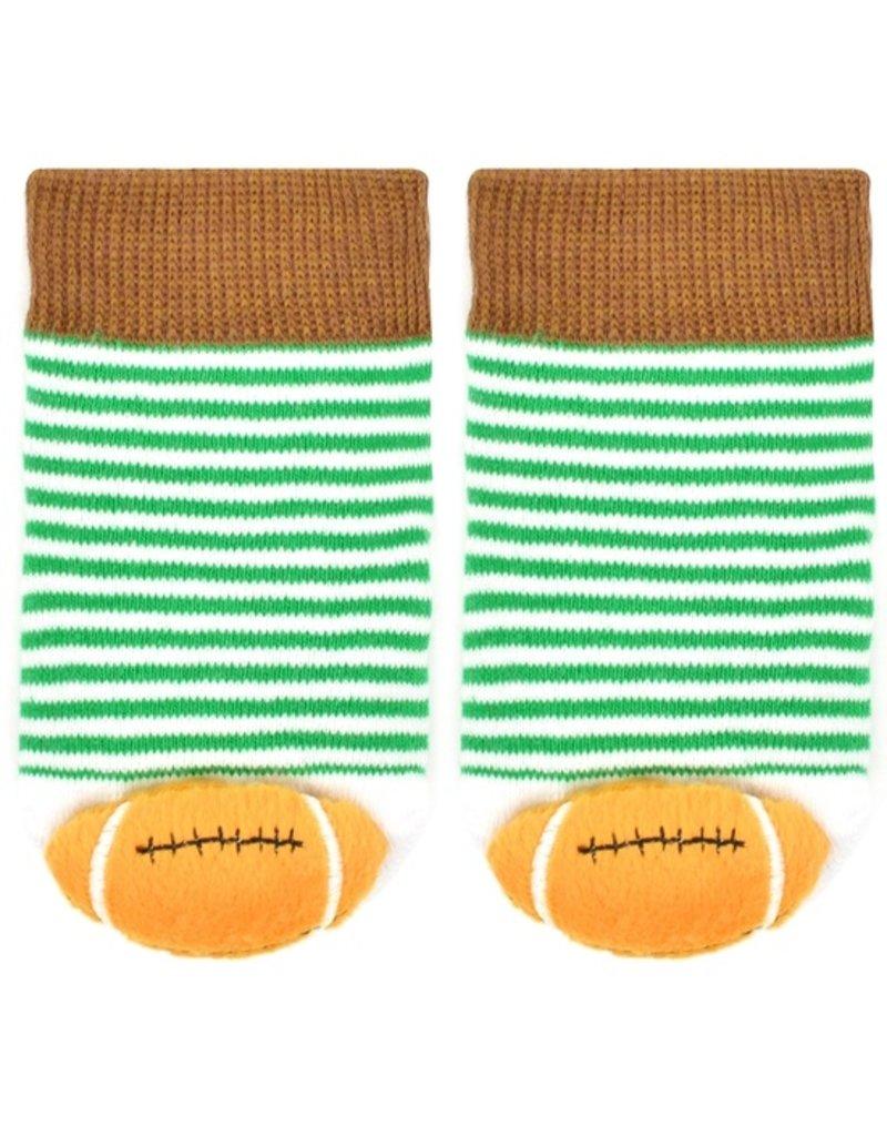 Liventi Football Rattle Socks 0-12m