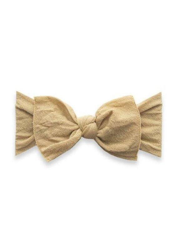 Shimmer Knot HB Metallic Gold