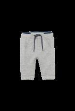 Heather Gray Fleece Basic Trousers
