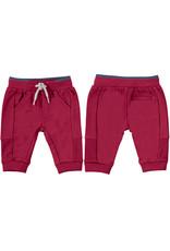Red Basic Fleece Trousers