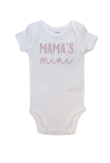 Mama's Mini Short Sleeve Onesie