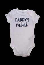 Daddy's Mini Short Sleeve Onesie