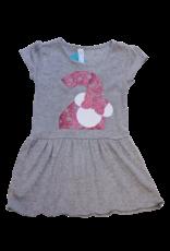 Minnie Glitter Birthday Gray Dress
