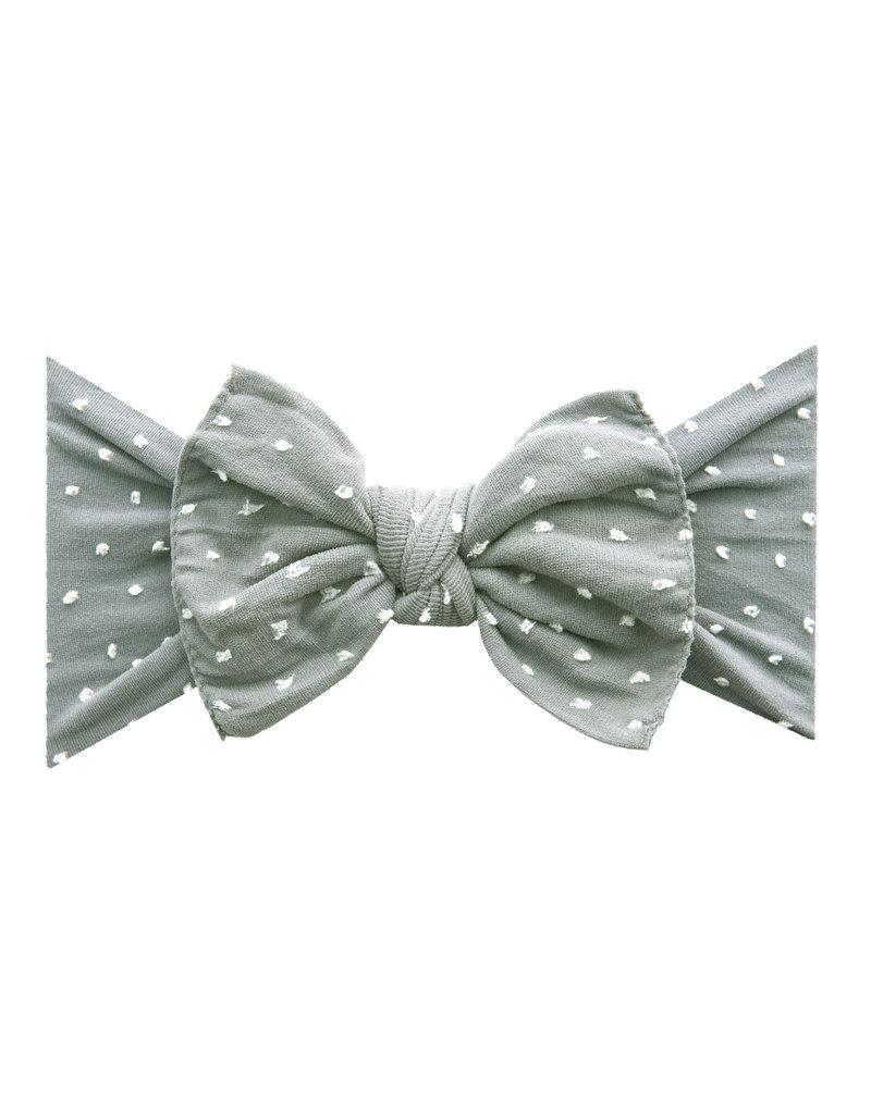 Patterned Shabby Knot Grey Dot