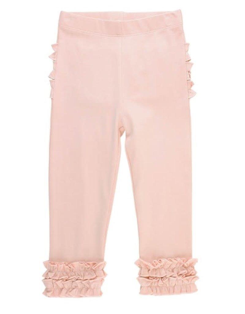 Ballet Pink Ruffle Leggings