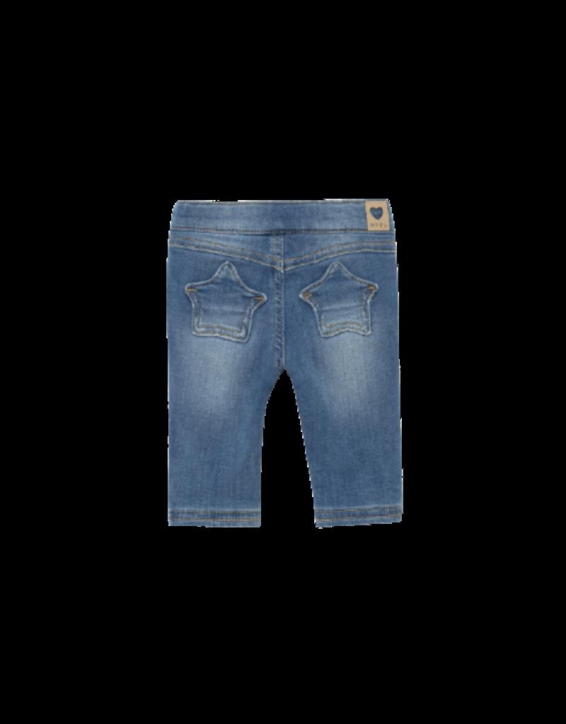 Medium Lined Denim Trousers