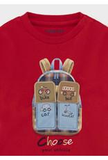 Red Play Long Sleeve Shirt