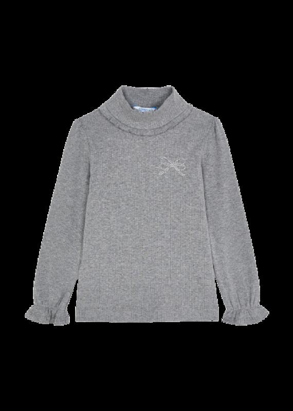 Steel Rib Mockneck Sweater