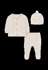 Cream Vigo Knit Leg Warmer Set