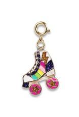 CHARM IT! Gold Rainbow Rollerskate Charm