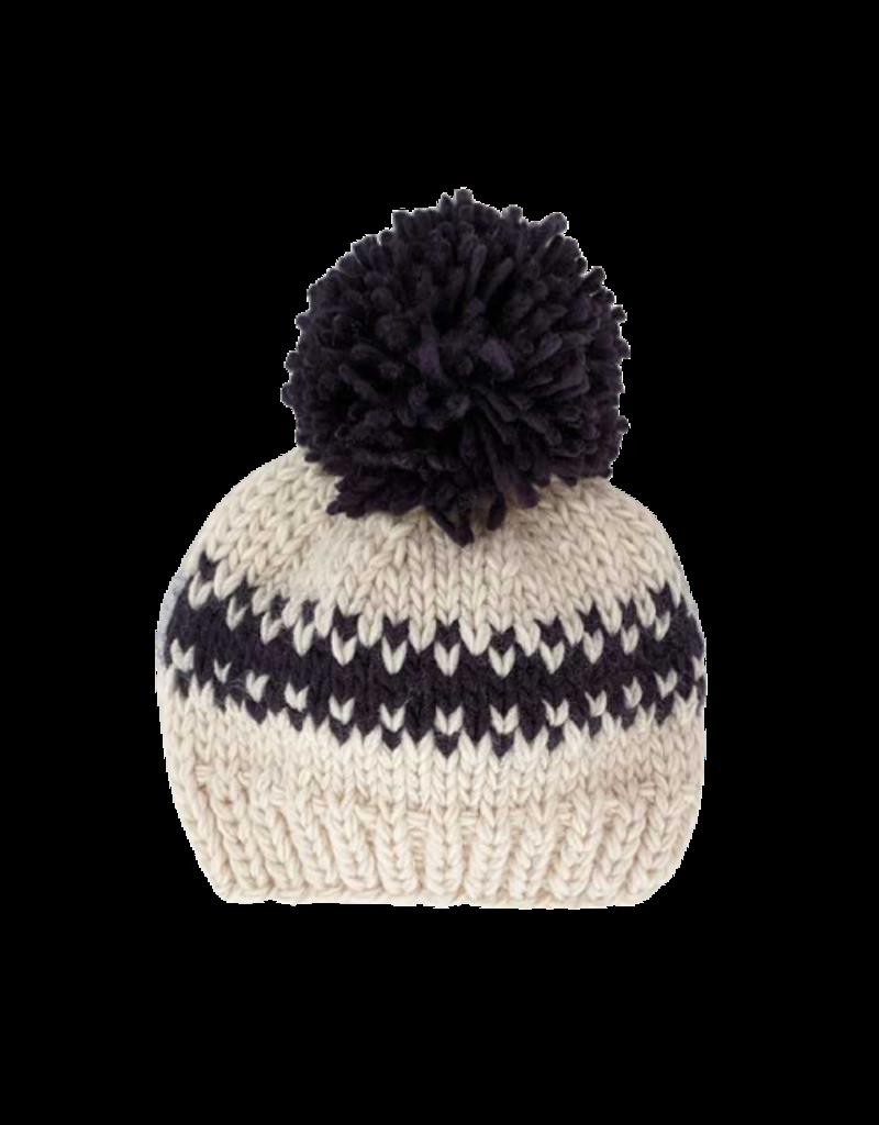 Rebel Natural Knit Beanie Hat