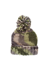 Camouflage Army Green Beanie Hat