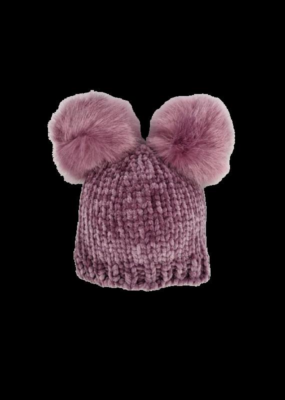 Wisteria Chenille Beanie Hat
